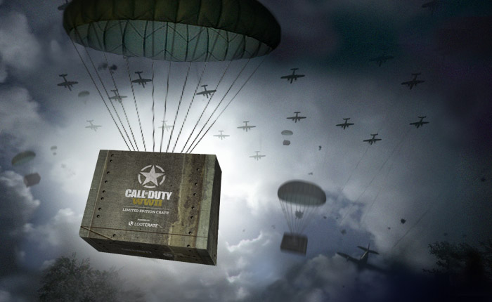 Loot Crate Call Of Duty WWII