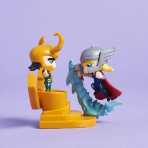 Thor vs Loki PhatMojo Figure